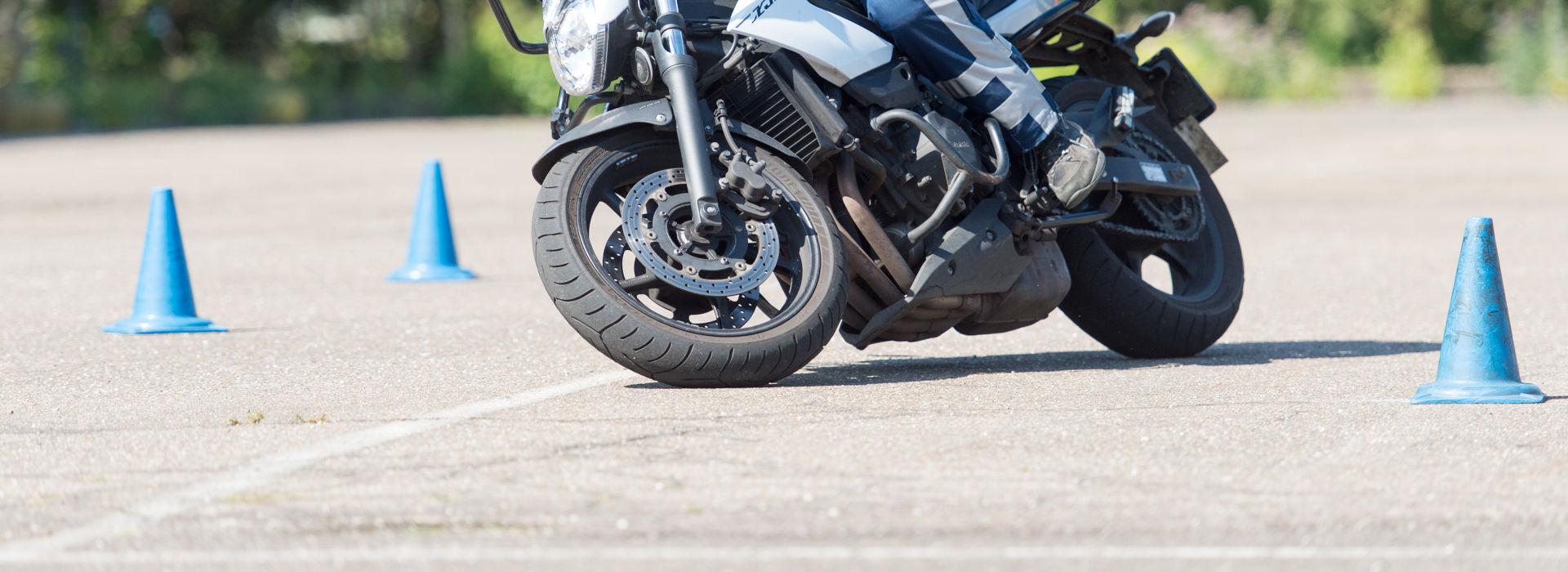Motorrijbewijspoint Bergen op Zoom rijtest
